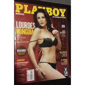 Revista Playboy Lourdes Munguia