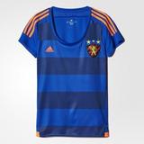 Camisa adidas Sport 3 Azul Feminina Original 2015