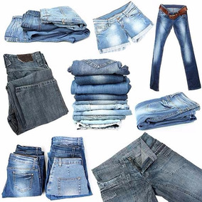 Lote 10 Calças Jeans Feminina Sortida Brecho