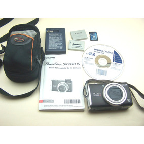 Camara Canon Powershot Sx 200is 12.1 Megapixel Zoom 12x J