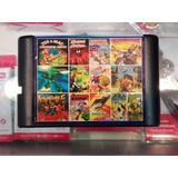 Cartucho 109 Sega Sin Repetir, Mortal Kombat Y Mas!!