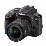Kit Cámara Reflex Nikon D3400 Y Lente Af-p Dx Nikkor 18-55mm