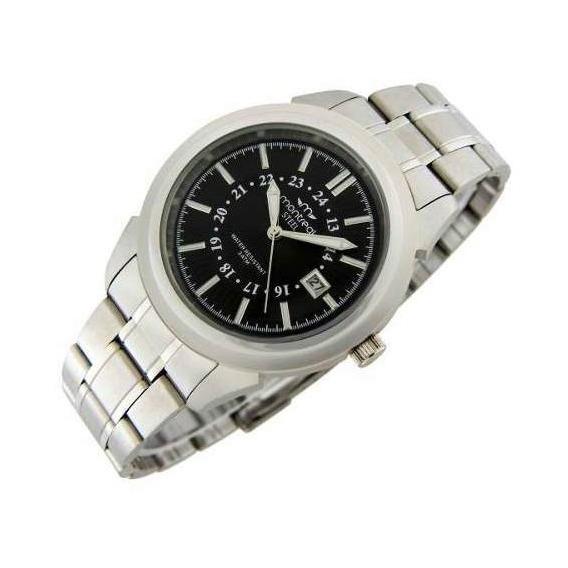 Reloj Montreal Hombre 100% Acero Ml184 Envío Gratis