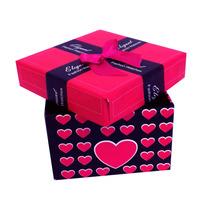 Caixa Convite Padrinhos Lembrança Casamento 15 Anos Pink
