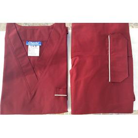 Uniforme Quirurgico Chastel Caballero Color Vino Talla M