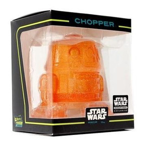 Funko Mini Hikari Chopper Rebels Orange Star Wars Exclusivo