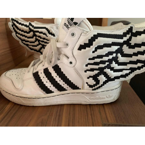 sports shoes 28188 1c17c adidas Raros 9 1 2 Us Jeremy Scott Pixel Wings Alas