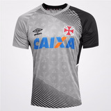 Camisa Vasco Extra Grande Treino Oficial Umbro Cinza 2014