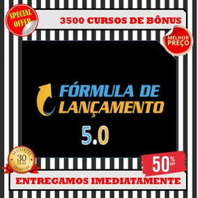 Fórmula De Lançamento 5.0- Erico Rocha+ 3500 Bônus