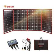 Dokio 200w 18v Flexível Painel Solar Portátil Ao Ar Livre