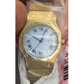 Reloj Santos De Cartier Oro 18 Ks / Ext Oro 18 Ks 113 Grs