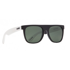 Oculos Solar Evoke Haze Black Temple White Matte G15 Total