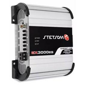 Módulo Stetsom Ex-3000 Rms Equalizador Crossover Bass Boost