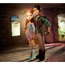 Ever After High Ella Ashlynn Hija De Cenicienta Y Hunter