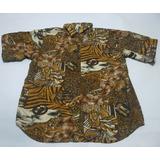 Camisa Hawaiana Zafari Talle L