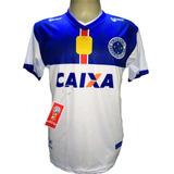 4c4ce5b6a2 Camisa Cruzeiro Azul Nova 2018 19 Bi Campeão Copa Brasil