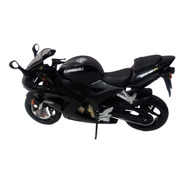 Miniatura Moto Kawasaki Ninja Zx-10r - Preta (1:12)