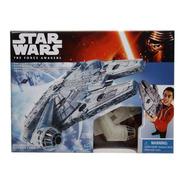 Nave Espacial Milenium Falcon Star Wars Original De Hasbro