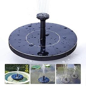 Bomba De Agua Solar Fuente Estanque Kit Completo