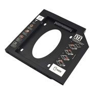 Adaptador Hdd/ssd Para Notebook Via Baia De 9,5mm Cd/dvd