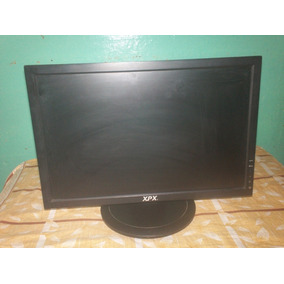 Monitor Lcd 19 Pulg Pantalla Rota -reparar Repuesto (3000s)