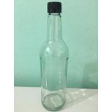 Botella De Vidrio 070 Con Tapas Nuevas Precinto De Seguridad