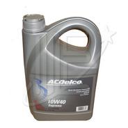 Bidon Aceite Semisintetico 10w40 Acdelco Original X 4 Lt.