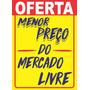 Cartaz Splash Oferta 21,5x31,5 Supermercado 100 Menor Preço