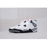 Jordan Retro 4 Withe Cemt Nike Air