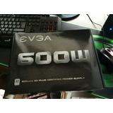 Fuente De Poder Gamer Evga 600 Certificada