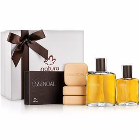 Kit Natura Essencial 100ml + Essencial 50ml + Sabonetes