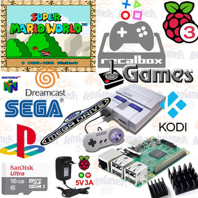Video Game Multijogos Recalbox Raspberry Pi3+ Controles Snes