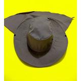Chapéu Liso Pescador Com Protetor Nuca Australiano