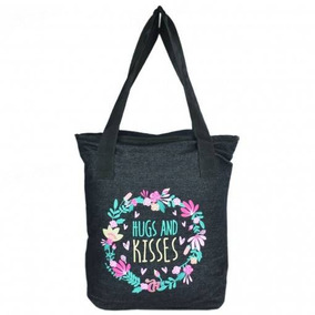 Bolsa Tote P Capricho Hugs And Kisses