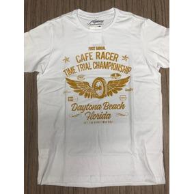 Camiseta Highway Daytona Branca P