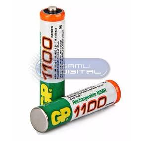 Pilas Baterías Gp Recargables Triple Aaa 1100 Nimh Nuevas!!!