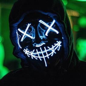 The Purge Mask Mascara Led Purga