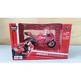 Moto Gp Ducatti #33 Marco Melandri A Escala 1/18. Metal.