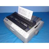 Epson Lq-590 Equipo Excelente C/cinta Y Cable 24 P