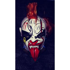 Mascara Luchador Psycho Clown Payaso Eso Para Niño Semiprofe