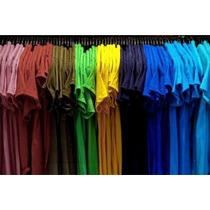 Camiseta Lisa 100%algodão Fio 30 Penteado/branca?preta