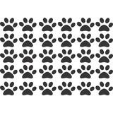 Adesivo Decorativo Cachorro Dog Pet Cartela Patas Patinha