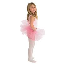 Disfraz De Bailarina De Ballet Rosado Para Niñas Con Tutú