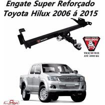 Engate Super Reforçado 4000 Kg Toyota Hilux 2012 2013 2014