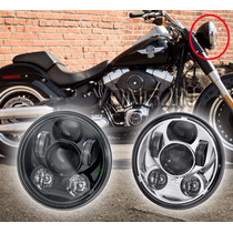Faro Led 5 3/4 Para Harley Davidson Sportster Iron 48 Dyna
