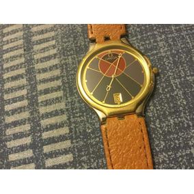 Reloj Omega De Oro Extraplano