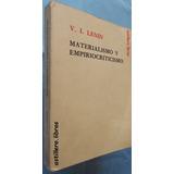 Materialismo Y Empiriocriticismo- Vladimir Ilich Lenin