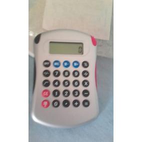 Calculadora De Bolsillo Con Boligrafos Y Agenda Incluidos