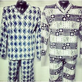 Pijamas Para Hombre 2 Prendas En Piel De Ángel Liviana Calie