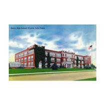 Wichita Falls, Texas, The High School Print, 24 X36